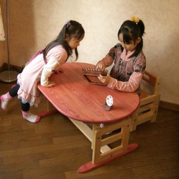 子供目線のオアシステーブル