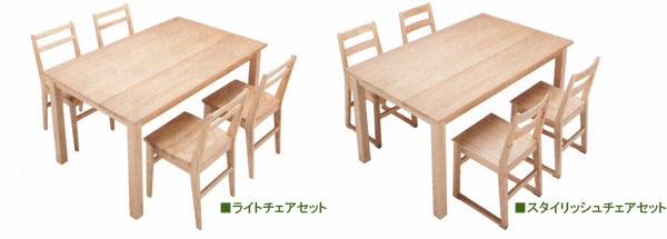 プレーンテーブル組み合わせ例
