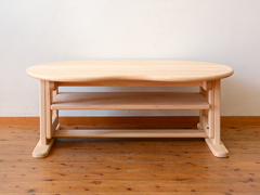 アレンジオーダーカラービーンズテーブル製作実例