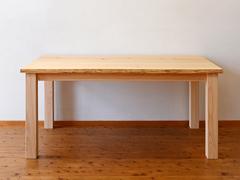 サイズオーダーナチュラルテーブル製作実例