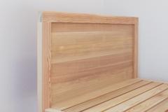 アレンジオーダー杉パネルボードベッド製作実例