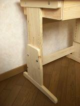机の高さ調節式木製脚