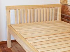 ひのき無垢ベッド
