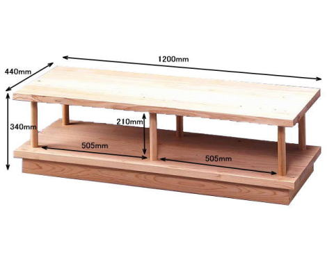 TVボード1200詳細サイズ