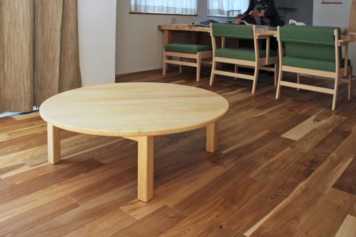 まるいテーブル[100/33]お客様使用例