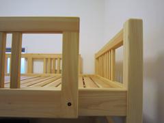 オーダーひのき2段ベッド製作実例