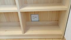 オーダーヒノキ楽譜収納棚製作実例