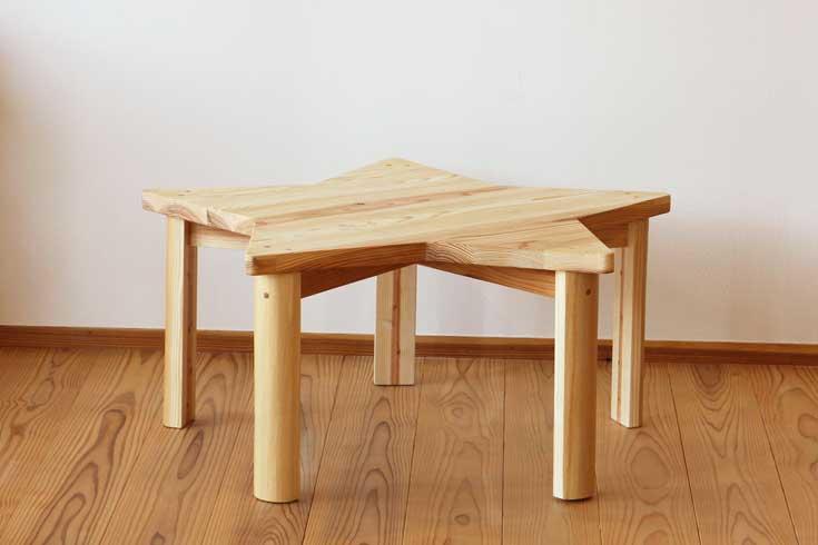 星の子ローテーブルお客様使用例