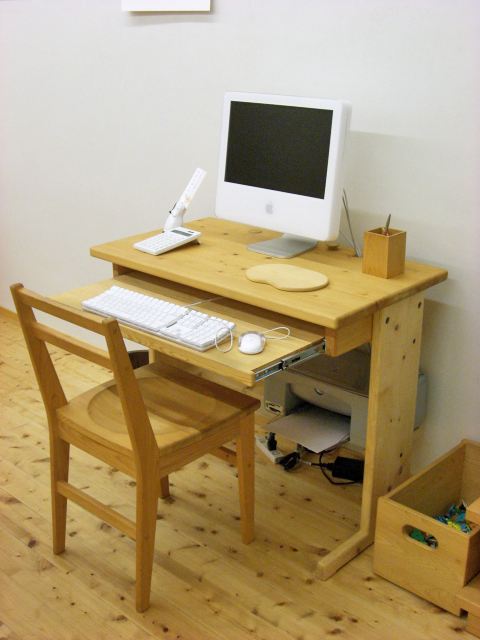 パソコンデスク/ハイタイプイメージ