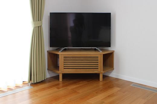 オークコーナーテレビボード製作実例