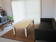 サイズオーダーリビングローテーブル