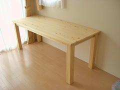 サイズオーダーダイニングテーブル製作実例