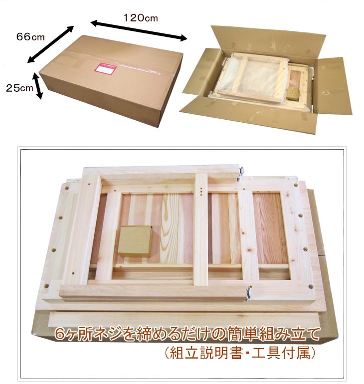 66cm×120cm×25cm
