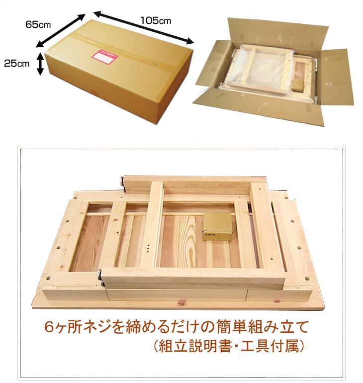 65cm×105cm×25cm