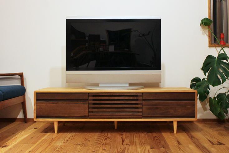 TVボード150Hiテレビ設置例