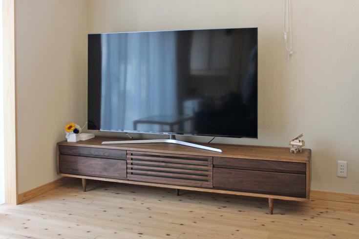 テレビボード200Hiダーク色