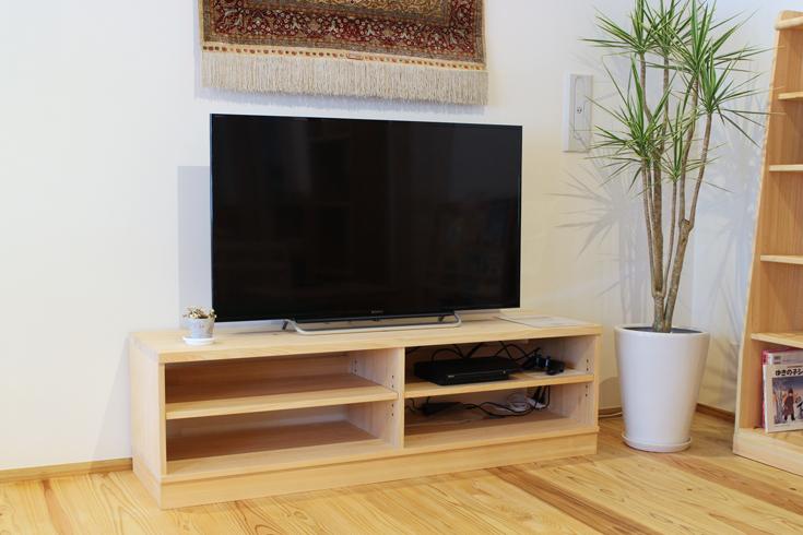 ひのきテレビボード